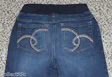 Motherhood Maternity Under Belly Jeans Size Small 26x31 Elastic Stretchy Waist