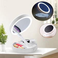 Schönheit & Gesundheit Fein Frauen Mode 8 Led-leuchten Lampen Make-up Spiegel Klapp Tragbare Kompakte Tasche Kosmetik Spiegel Hand Spiegel Make-up-tools Haut Pflege Werkzeuge