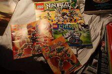 Lego   notice livret  9450 ninjacq 70131 .70207 .70211chima