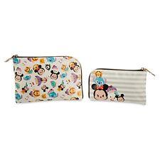 Disney Store Usa Tsum Tsum Travel Bag Set of 2 *Brand New*