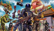 Poster 42x24 cm Videogame Videojuego Fortnite Battle Royale Cartel 23