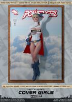 Power Girl Karen Starr Pin-Up Sexy Cover Girls A3 Signed DC Comic Art Print