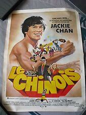 "JACKIE CHAN ""Le Chinois"" Affiche Poster The Big Brawl Golden Harvest"