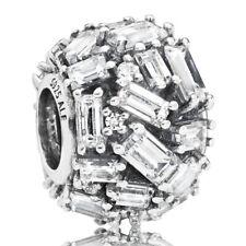 PANDORA Charm Element 797746 CZ Ice Cube Silber Bead