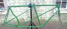 Rensch tandem frame, vintage steel cycling