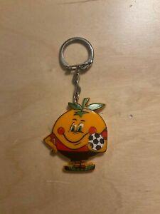 Schlüsselanhänger Naranjito WM 1982 Maskottchen
