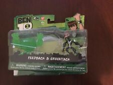 New Sealed Ben 10 Omniverse Feedback Gravattack 2-pack Action Figures