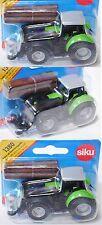 Siku 1380 Deutz Agrotron TTV 650 Traktor mit Baumstammgreifer