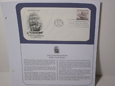 US Stamps PCS Panel FDC #3869 USS Constellation 2004