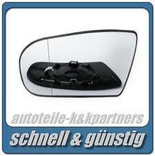 spiegelglas für MERCEDES E-Klasse W210 Limousine 00-02 links asph beheizbar