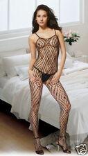 XXX Stunning Lace Crotchless Body Stocking -  S/M 8-12