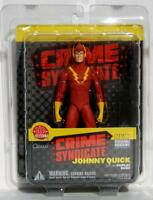 DC Direct Crime Syndicate Johnny Quick w/Display Base Action Figure Mint On Card