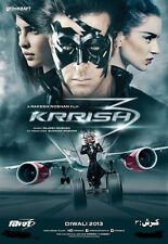 Krrish 3 (2013) - Hrithik Roshan, Priyanka Chopra, Kangana  bollywood hindi dvd