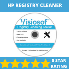 HP Registry Cleaner Mechanic Tool Repair Recovery CD DVD Windows XP VISTA 7 8 10
