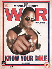 WWE WCW The Monday Night War Volume 2 Know Your Role 4x DVD