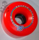 KRYPTONICS Clásico K - Ruedas De Skate 70mm / 78a - Rojo Kryptonic / Kryptos