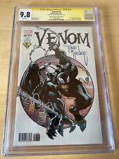 MARVEL Comics VENOM #6 CGC SS 9.8 TODD MCFARLANE SPIDER-MAN 300 HOMAGE *MP