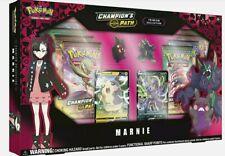 Pokemon Champion's Path Premium Collection Marnie Box Pre-Order Ships 10/26/20