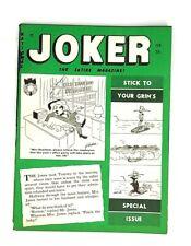 JOKER Magazine February 1961 Bill Wenzel Machamber DeCarlo Humorama Jokes Gags