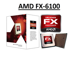 "AMD FX 6100 Black Edition ""Bulldozer"" 6 Core, AM3+, Clock 3.3 - 3.9 GHz CPU"