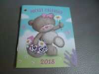 "2018 "" HUGS "" Cute DATE BOOK- See Photo's"