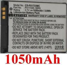 Batterie 1050mAh type PX1733 PX1733E-1BRS PX1733U Pour Toshiba Camileo S30