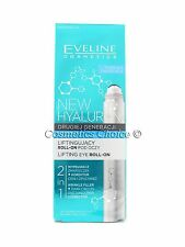 EVELINE NEW HYALURON™ SECOND GENERATION LIFTING EYE ROLL-ON 2in1 Wrinkle Filler