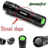 Skywolfeye 10000LM CREE XML T6 Lampe de poche LED POLICE Torch Zoom 18650