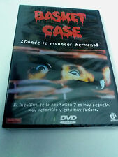"DVD ""BASKET CASE"" PRECINTADO SEALED FRANK HENENLOTTER DONDE TE ESCONDES HERMANO"