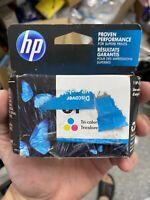 New Genuine HP 61 Tri Color Ink Cartridge Officejet 2620 Envy 4501 4507 Exp 2022