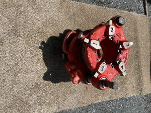 RIDGID 141 Receding Threader 2-1/2 thru 4 inch. Great condition. New Dies