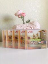 JVC DVD+R DL Video Data Double Layer 8.5 GB 8x Speed 240 min Jewel Cases 5 pk
