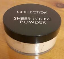 2 x Collection Sheer Loose Powder #1 Barely There 20g