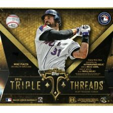 2016 Topps Triple Threads Baseball - BASE PARALLEL RELIC #d - Pick Your Card -