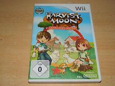 Nintendo Wii - Harvest Moon - Baum der Stille - Deutsches Original TOP Zustand