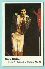 1970s Dandy Gum Dutch Pop Star Card UK Leader of The Gang Singer Gary Glitter