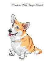 Pembroke Welsh Corgi Notebook Record Journal, Diary, Special Memories, to Do.