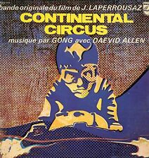 "GONG ""CONTINENTAL CIRCUS"" ORIG FR 1971"