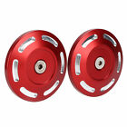 Pair Motorcycle Frame Hole Cover Aluminium Alloy Replace For S1000XR 15‑20 BS