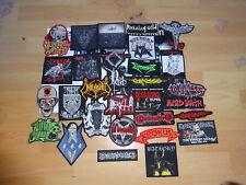 Mega Patch Set RaR 30 Patches Patch Entombed Kutte Death Metal Black Metal