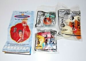 Complete Set of 3 Carls Jr. Hardees 2010 Cloudy with a Chance of Meatballs Toys
