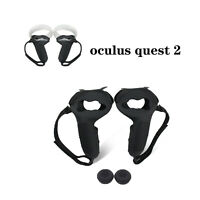 Silicone VR Controller Protective Sleeve Handle Grip Cover for Oculus Quest 2 VR
