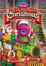 Very Merry Christmas - The Movie With Barney DVD Region 1 884487110847