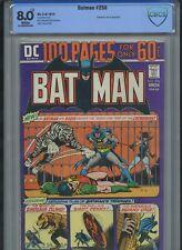 Batman #256 (1974) High Grade 100 Pages Like CGC CBCS 8.0 VF