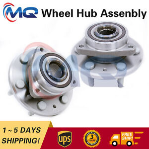 2* 513277 Front/Rear Wheel Hub Bearing for 09-17 Chevy Traverse 07-17 GMC Acadia