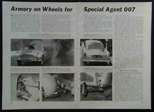 James Bond's 007 Aston Martin DB5 1965 pictorial