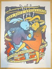 2014 Barn Dance Apocalypse - Chicago Silkscreen Concert Poster S/N by Jay Ryan