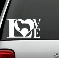 B1090 Border Collie Dog LOVE Decal Sticker for Car Truck SUV Van LAPTOP