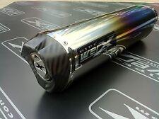 BMW R1200R 2011 -14 Color Titanio Tri-Ovalado De Carbono Salida Camino Legal Escape
