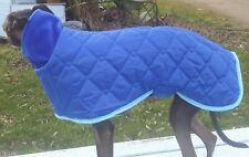 Waterproof Quilted Fleece Lined Whippet Coat. BN